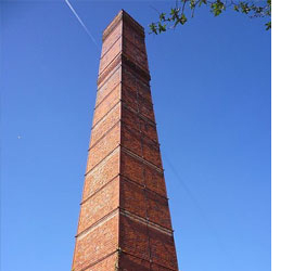 The Wansbrough Paper Mill Chimney